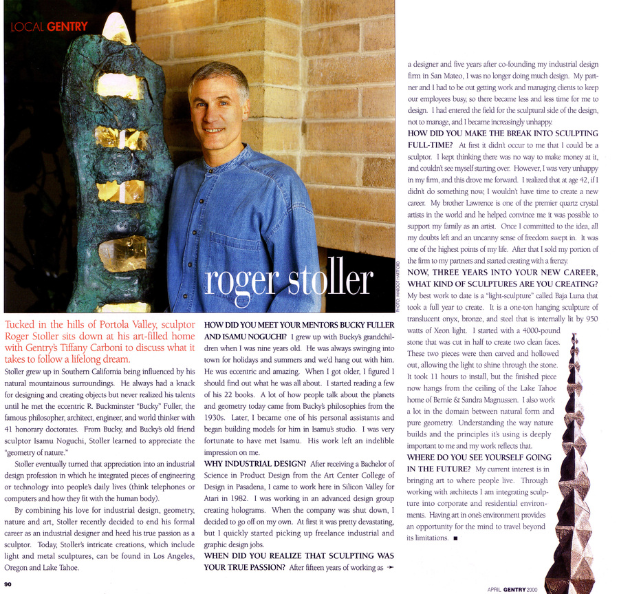 Gentry Article - Roger Stoller